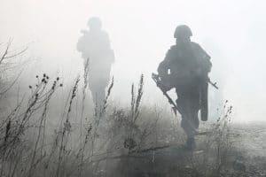 солдаты в тумане
