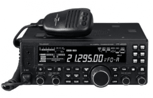 Compact Amateur Base Transceiver by Yaesu