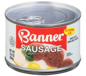 Banner Sausage, Canned Sausage