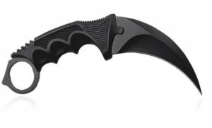 Black Karambit Knife
