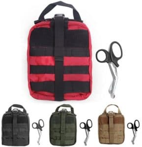 Compact Tactical MOLLE Rip-Away EMT Medical First Aid Pouch