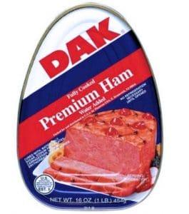 DAK Premium Ham, Fully Cooked