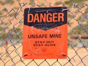Danger-Nevada-Sign-Berlin-State-Park-Mining