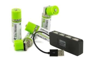 EasyPower USB Rechargeable AA Batteries