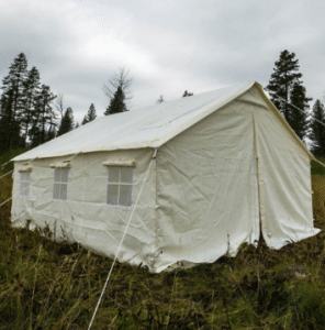 Elk Mountain's Canvas Tent