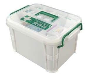 Family Emergency Kit Storage Box