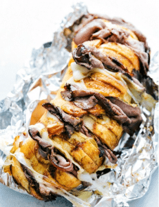 Foil Packs Of French Dip Sandwiches