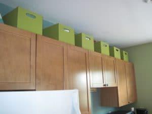 Food-Storage-Above-Kitchen-Cabinets