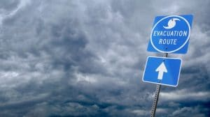 Hurricane-Evacuation-Route-Sign