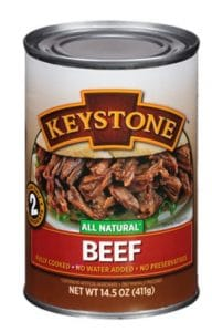 Keystone Meats All Natural Canned Beef