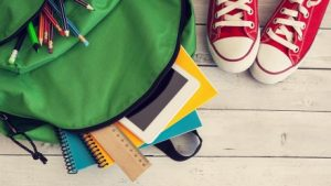 Kids-Backpack-With-Supplies-Spilling-Out