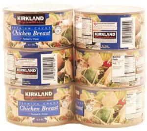 Kirkland Signature Premium Chunk Chicken Breast Packed in Water,