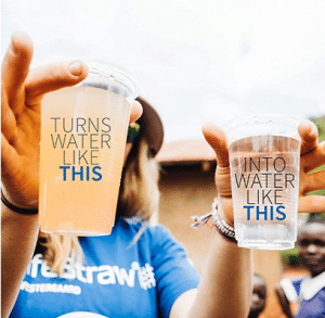 LifeStraw Personal Water Filter for Hiking