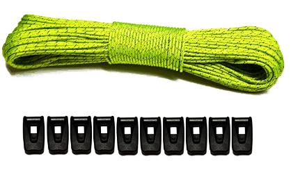 LiteOutdoors Guyline & Tensioner Kit