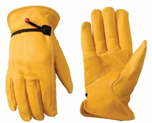 Men's Leather Work Gloves