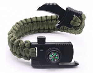 Military Armband With Firestarter