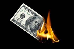 Money-On-Fire