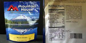 Mountain House Ingredient List