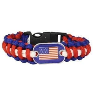 Patriot Paracord Bracelet