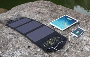 Portable-Solar-Panel-Charging-A-Phone