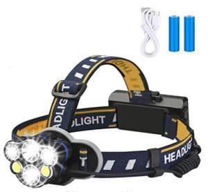 Rechargeable headlamp