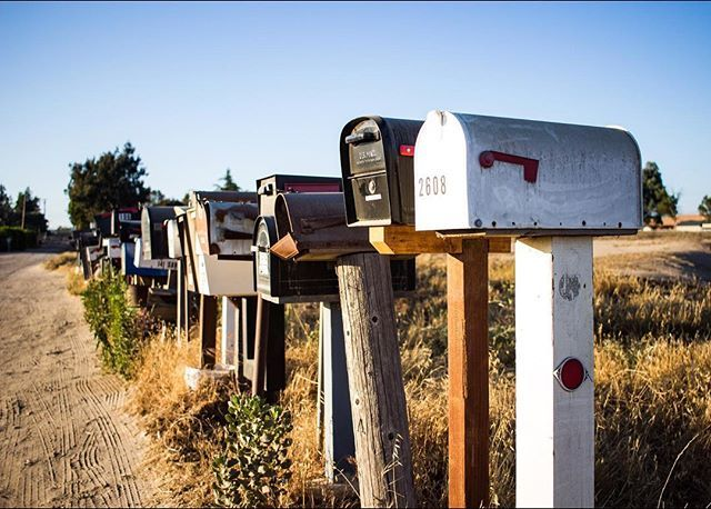 Row-Of-Mailboxes