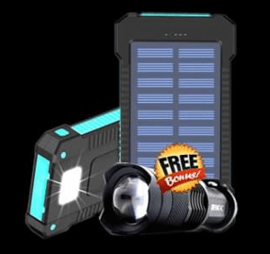 Anytime Charge Solar Power Bank