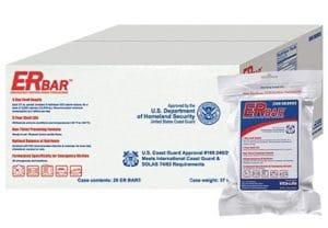 ER Emergency Ration 2400 Calorie Food Bars