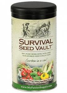 Survival Seed Vault Non-GMO