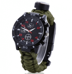 Survival Watch with Paracord