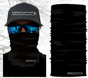Tactical Black Multi-Use Face Shield
