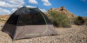 Tent-small-in-a-campground