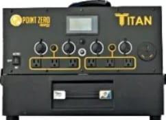Titan portable power station