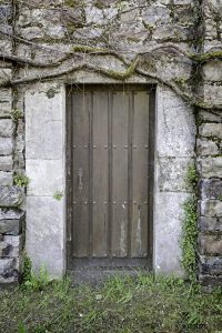 bomb shelter entrance