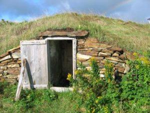concealed bunker