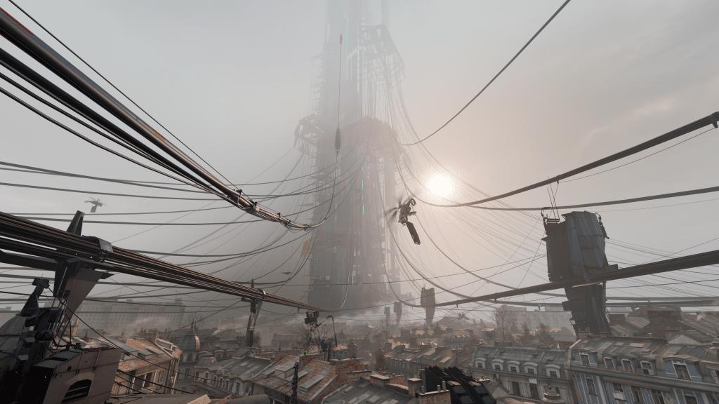 dark-city-through-wire