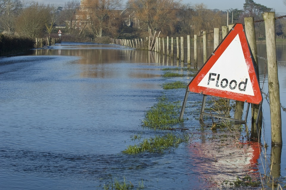 flooded-road-with-sign