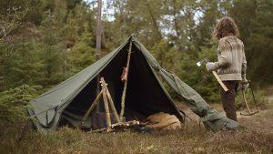 make a camp tent