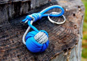 paracord-monkey-fist-key-chain