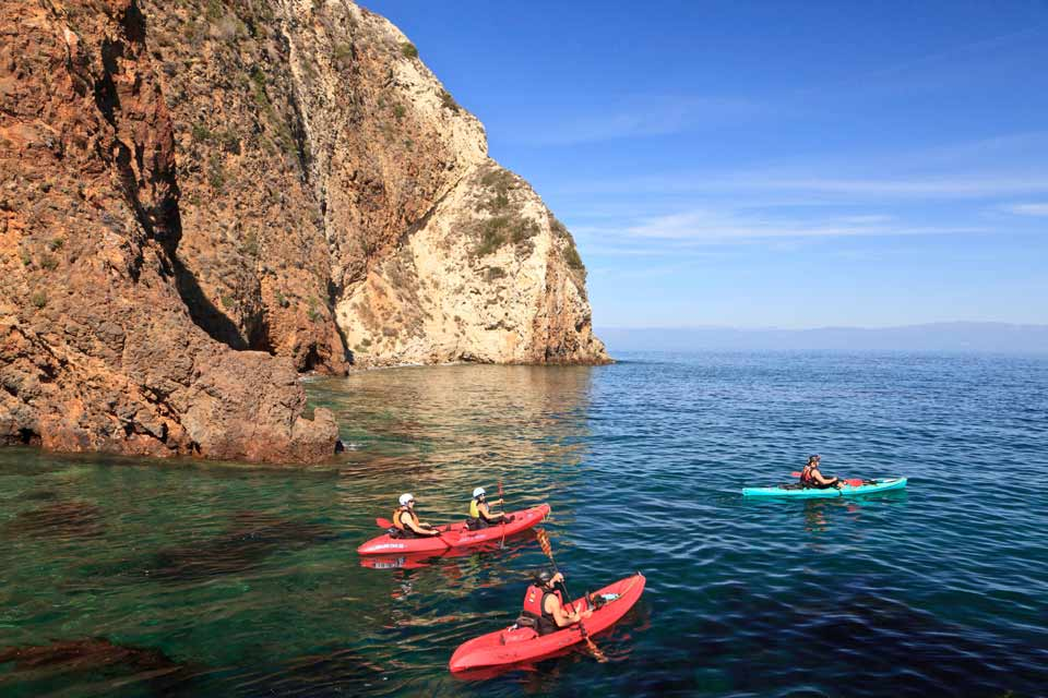 Kayaking-Out-Of-Channel-Into-Open