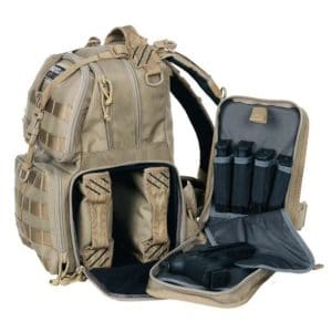 tactical backpack with ammo