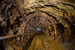 underground-mine-passage-with-rails