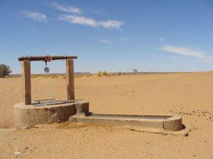 Water Well in Desert