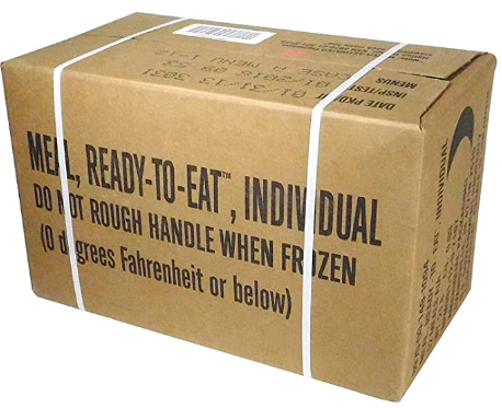Meals Ready-to-Eat Box