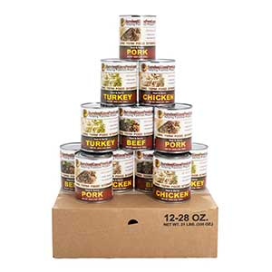 survival canned meat